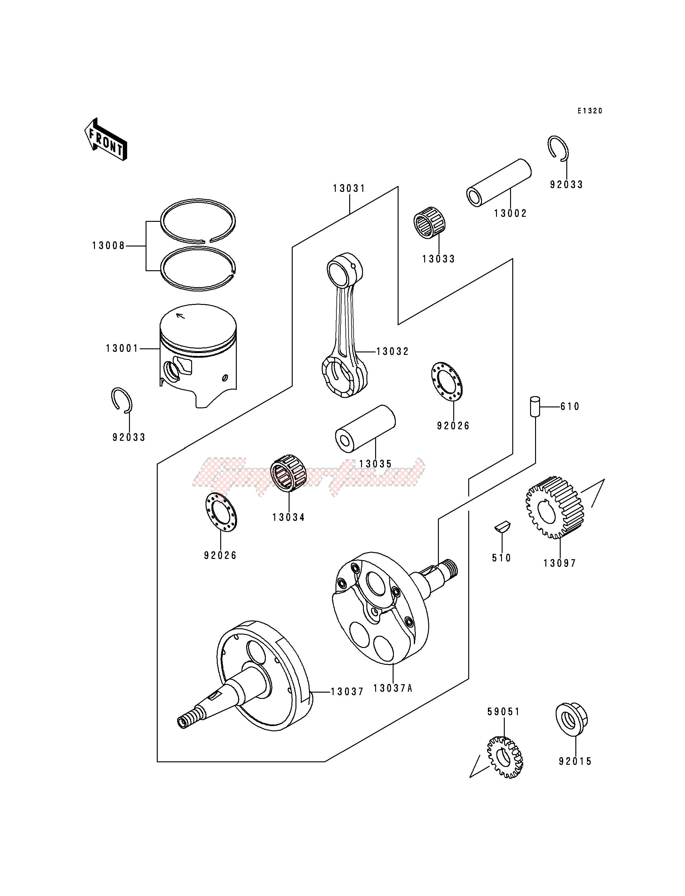 CRANKSHAFT_PISTON-- S- - blueprint