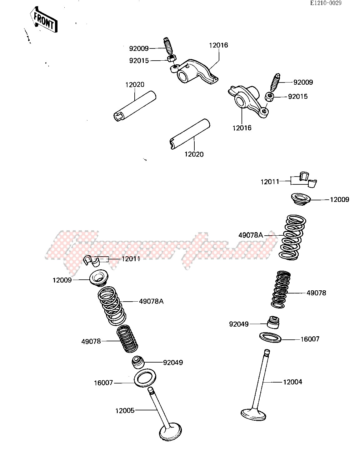 ROCKER ARMS_VALVES image