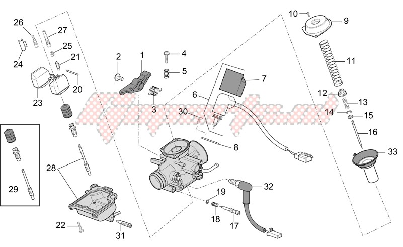 Carburettor - Components image