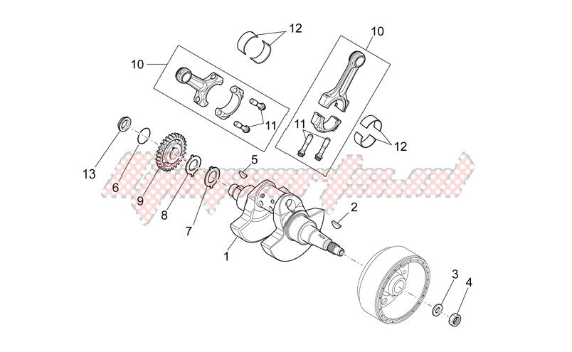 Engine-Drive shaft