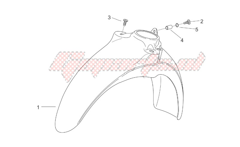 Front body VI - Front mudguard image