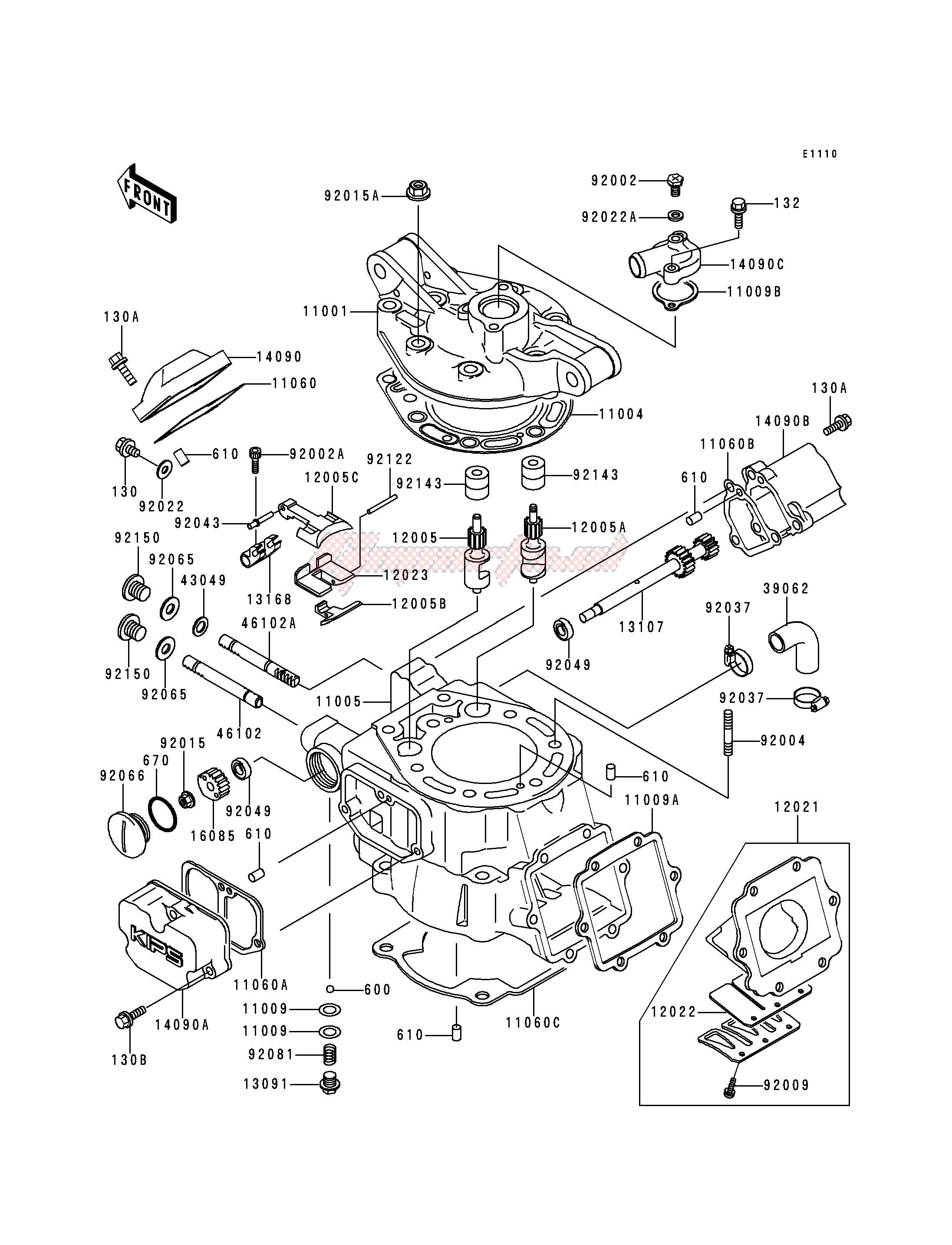 CYLINDER HEAD_CYLINDER blueprint
