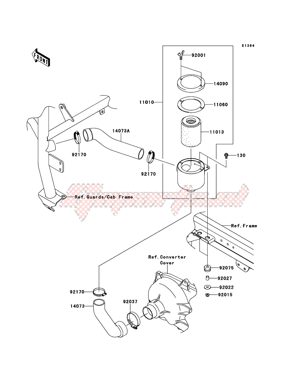 Air Cleaner-Belt Converter image