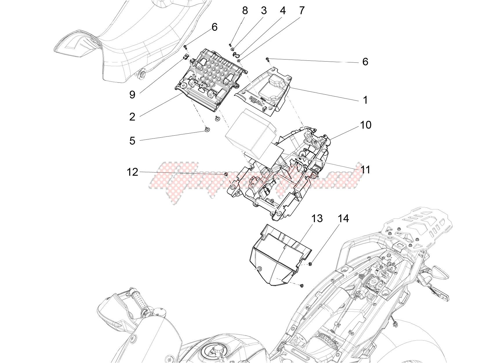 Saddle compartment image