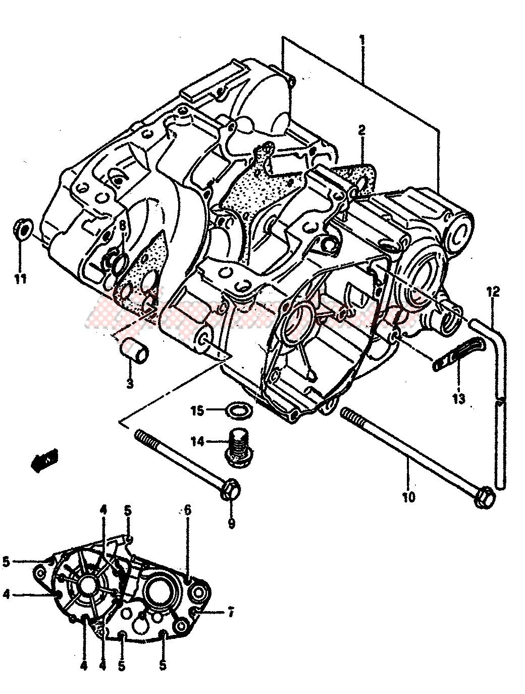 CRANKCASE blueprint