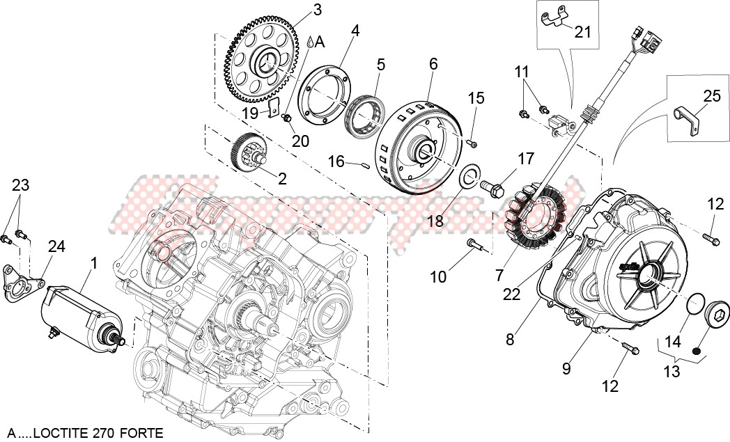 Engine-Cdi magneto assy - Ignition unit