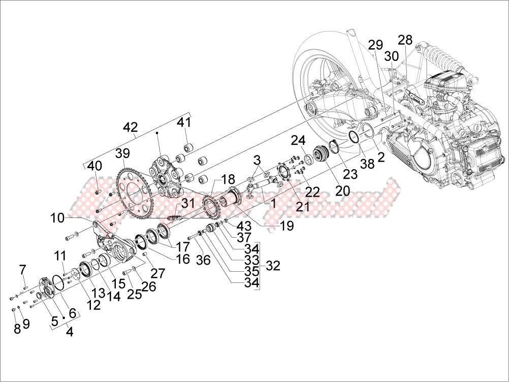 Transmission assembly image