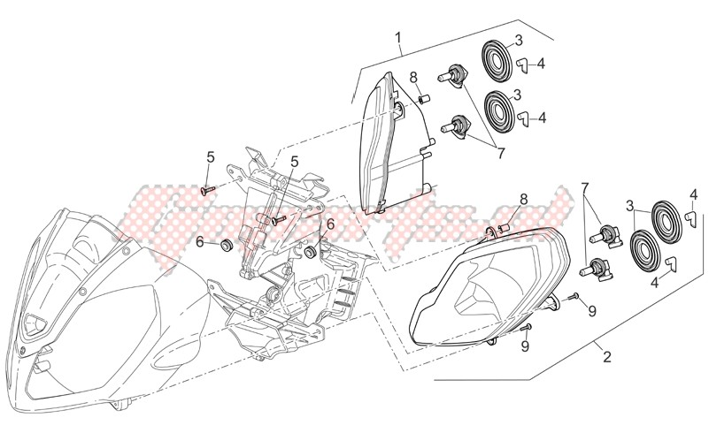 Electrical systems-Headlight