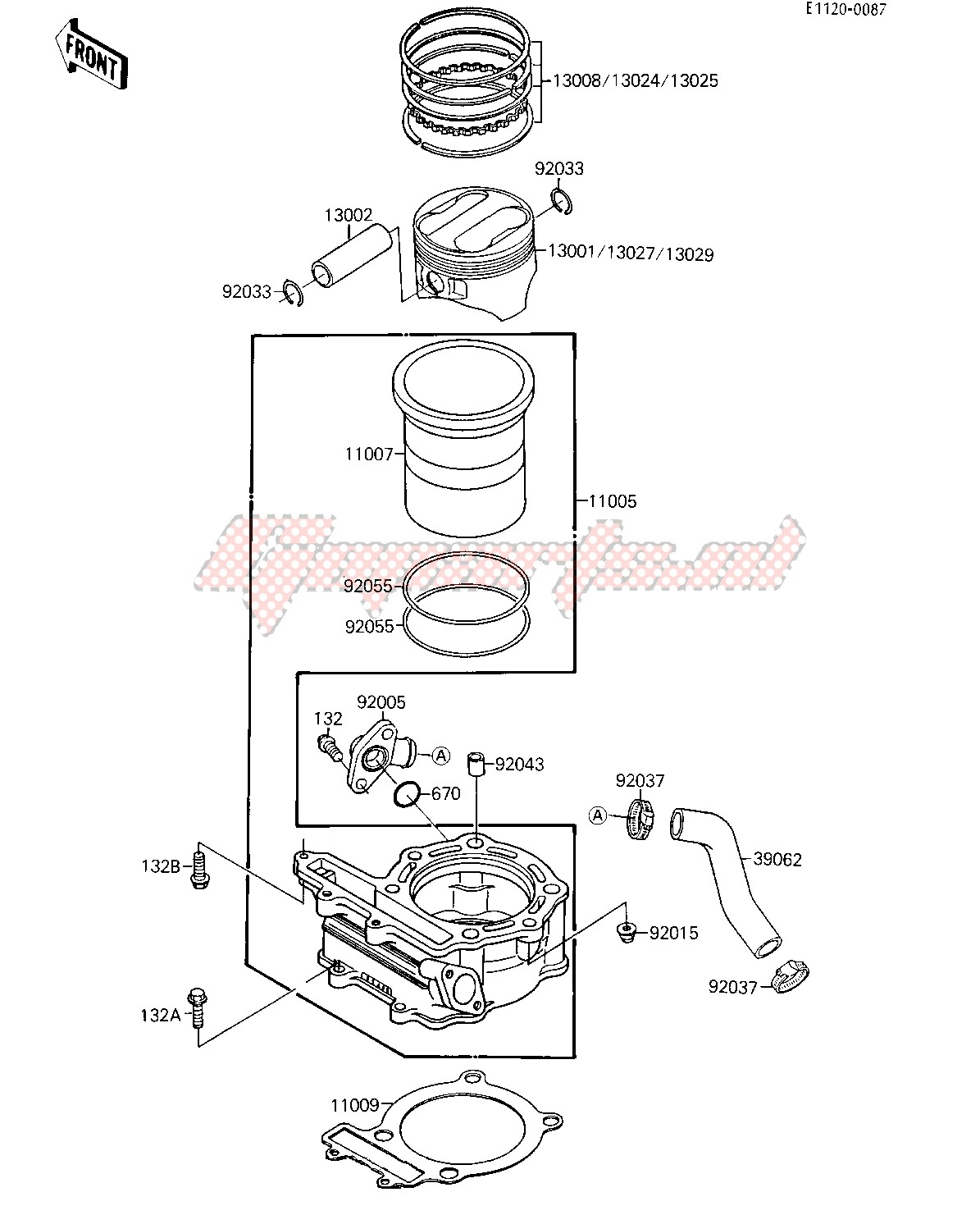 Engine-CYLINDER_PISTON
