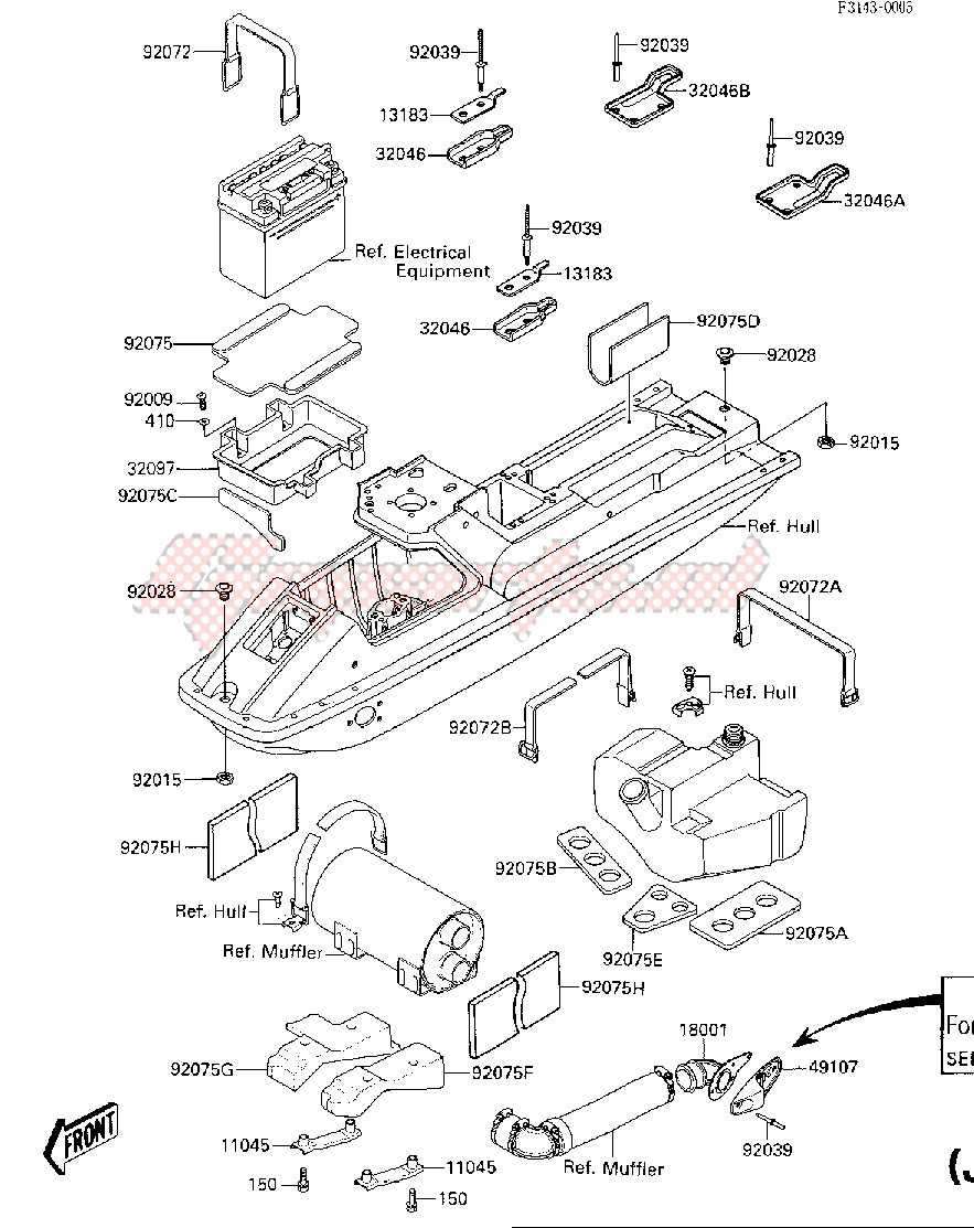 HULL FITTINGS -- JF650-A2- - image