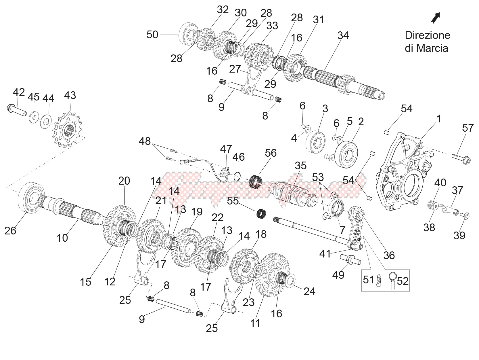 Gear box - Gear assembly image
