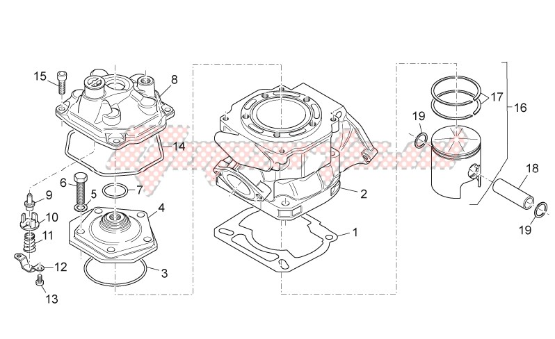 Cylinder - Head - Piston image