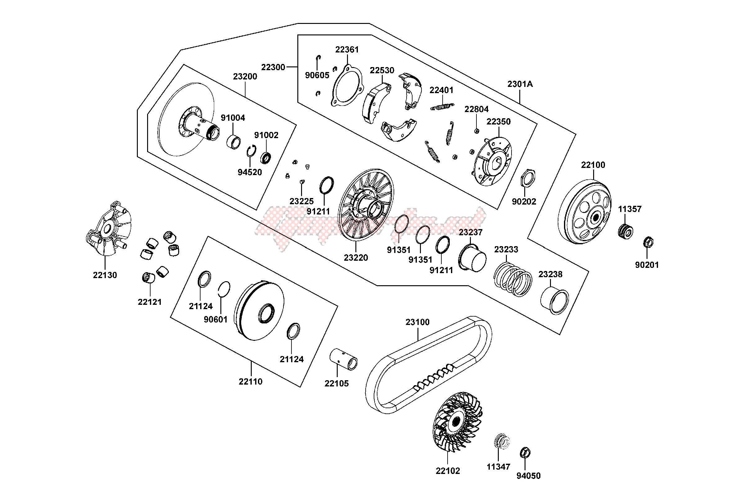 Kymco Engine Diagram | Repair Manual