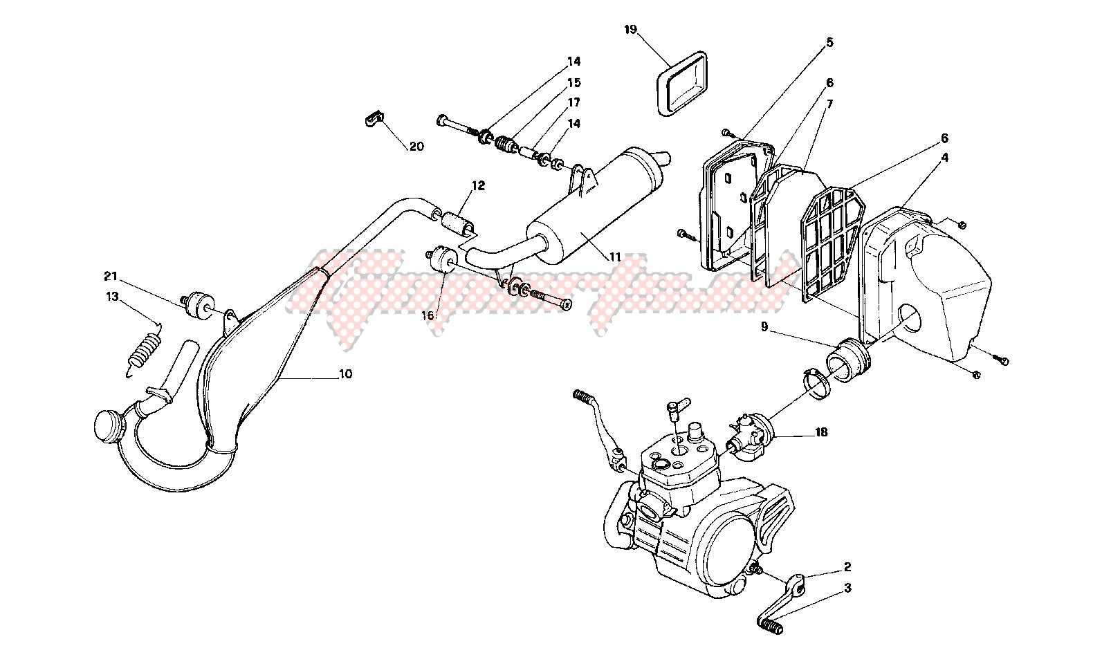 Exhaust system - airfilter image
