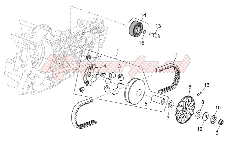 Variator assembly image