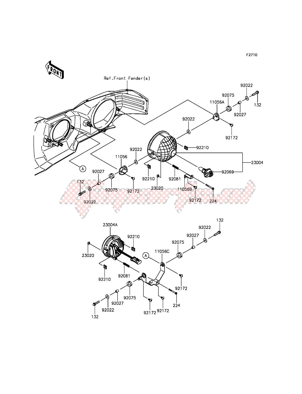 Headlight(s) image