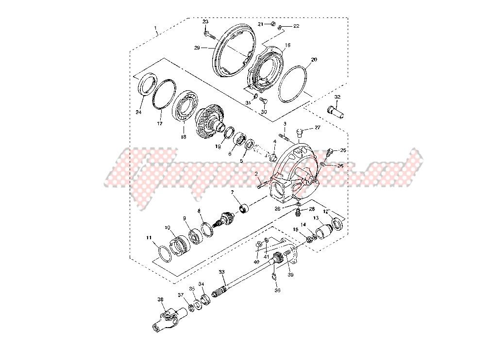 DRIVE SHAFT – FINAL GEAR blueprint