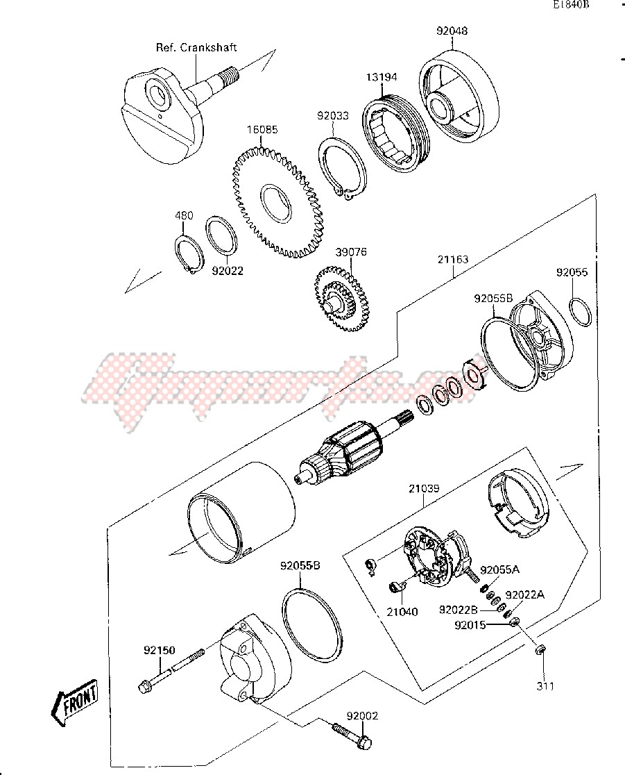 STARTER MOTOR-- JS300-A3_A4_A5- - image