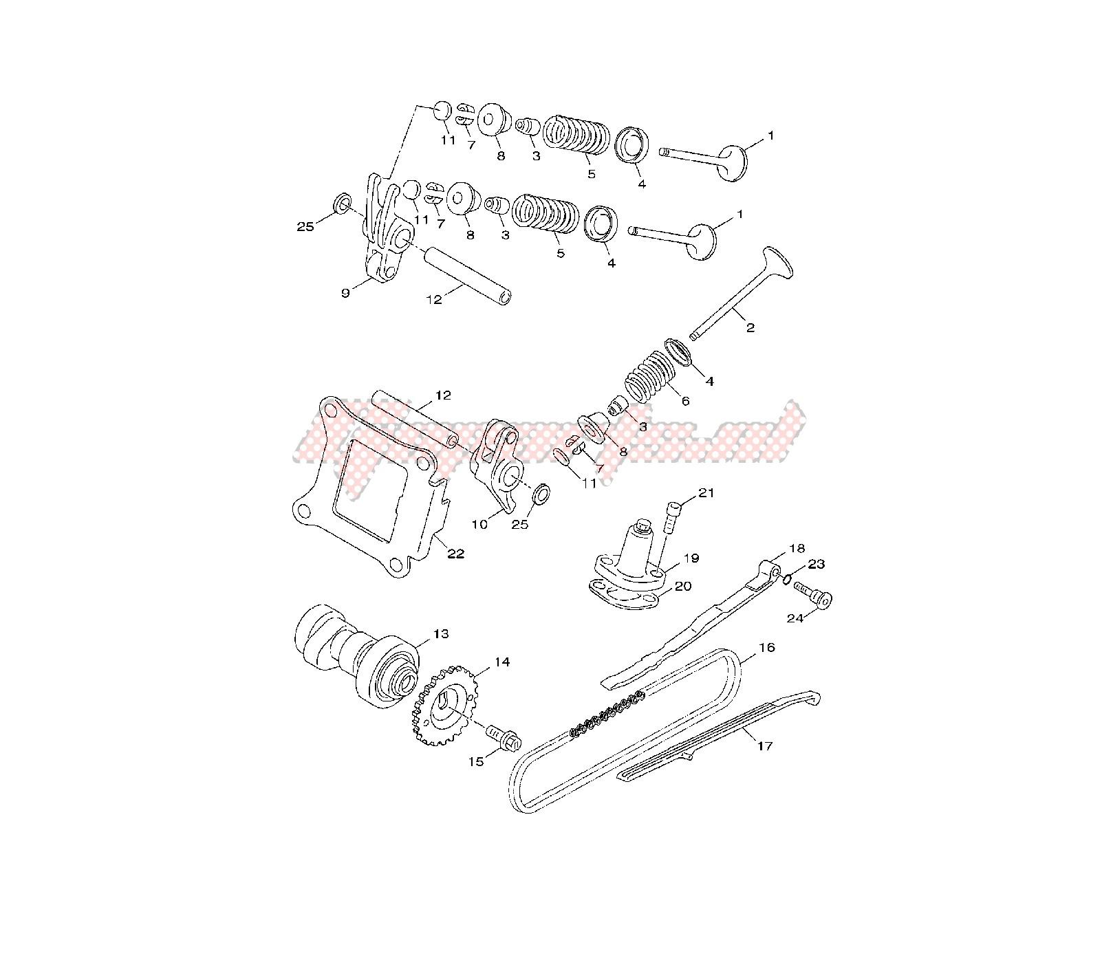 kymco engine valve diagram wiring library Kymco Maxxer 450I Engine Diagram