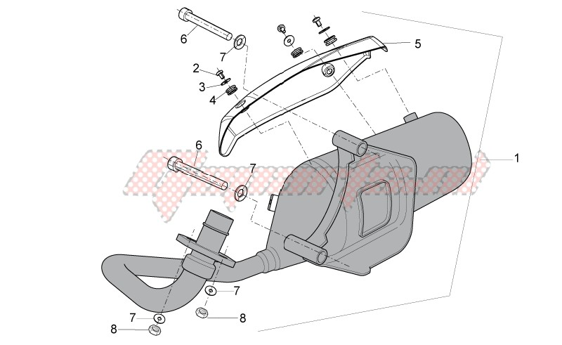 Frame-Exhaust unit