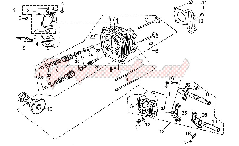 Cylinder head assy image