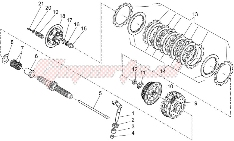 Engine-Clutch I