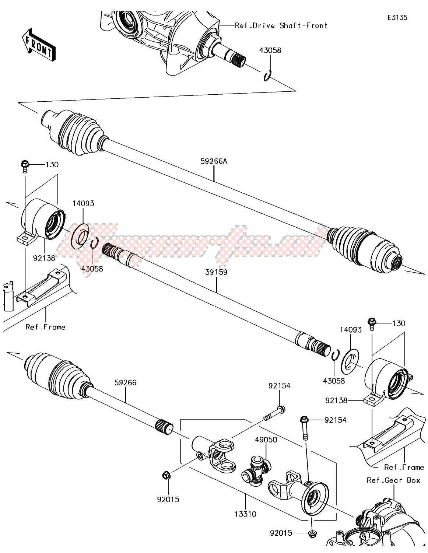 Drive Shaft-Propeller image