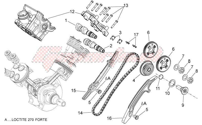 Rear cylinder timing system image