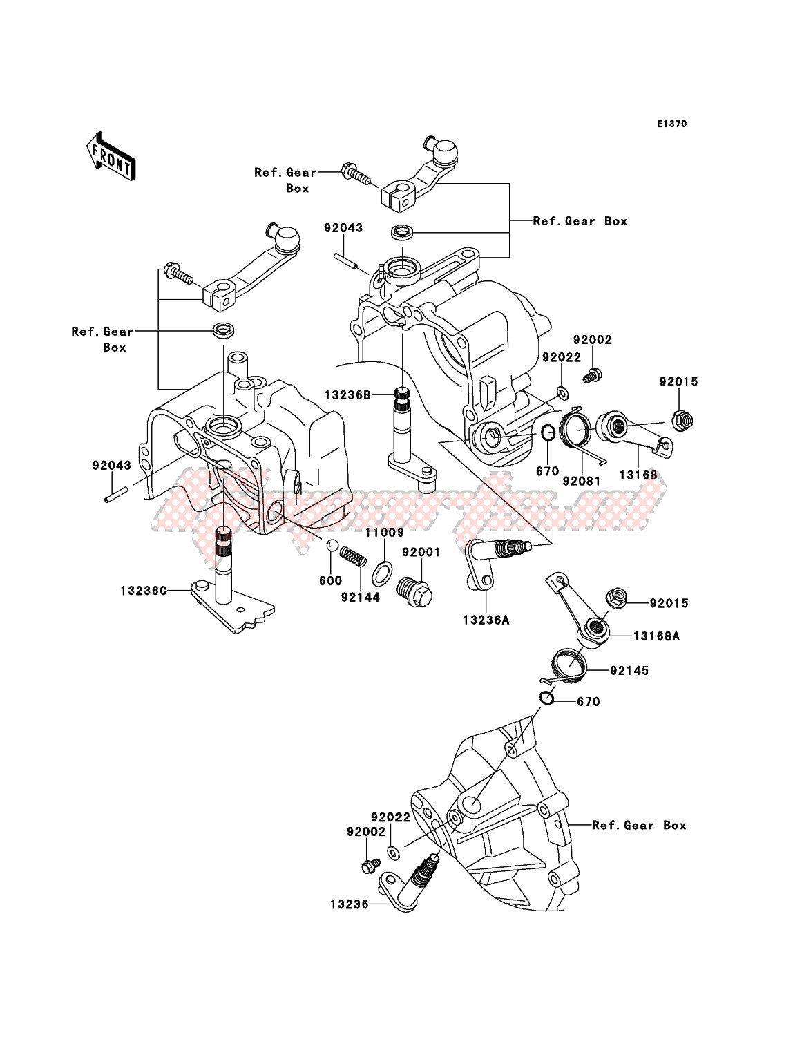 Engine-Gear Change Mechanism