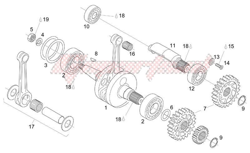 Crankshaft - Balance shaft image