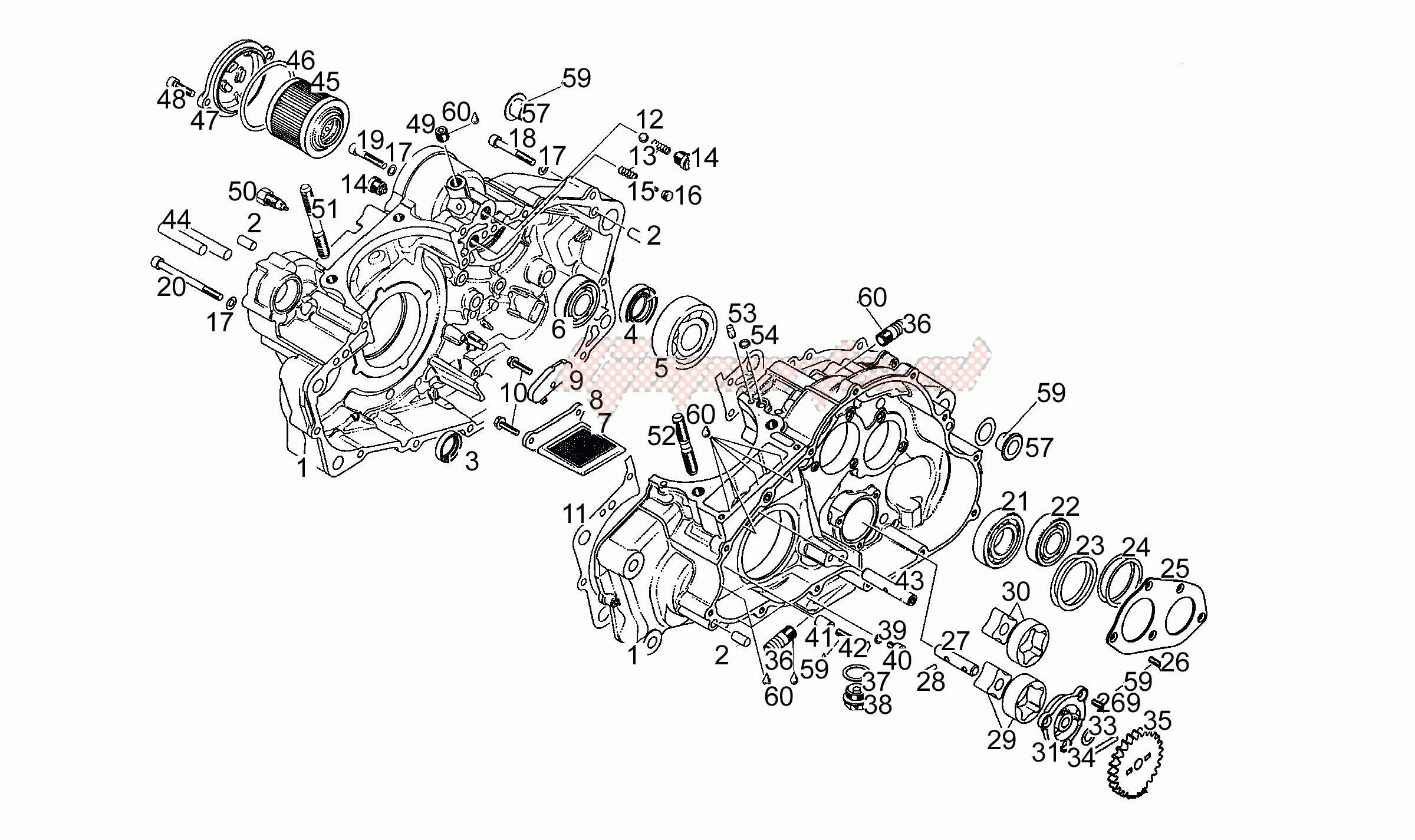 Engine-Oil pump N-S
