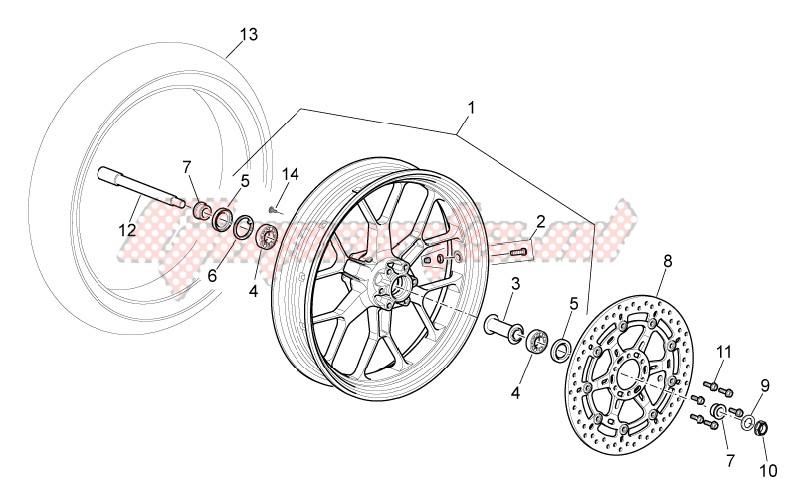 Front wheel I image