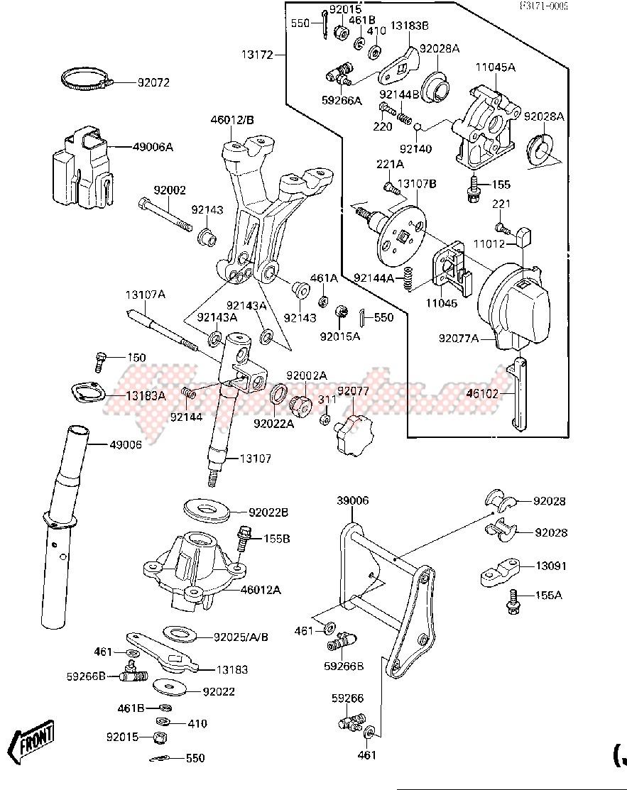 HANDLE POLE -- JF650-A2- - image