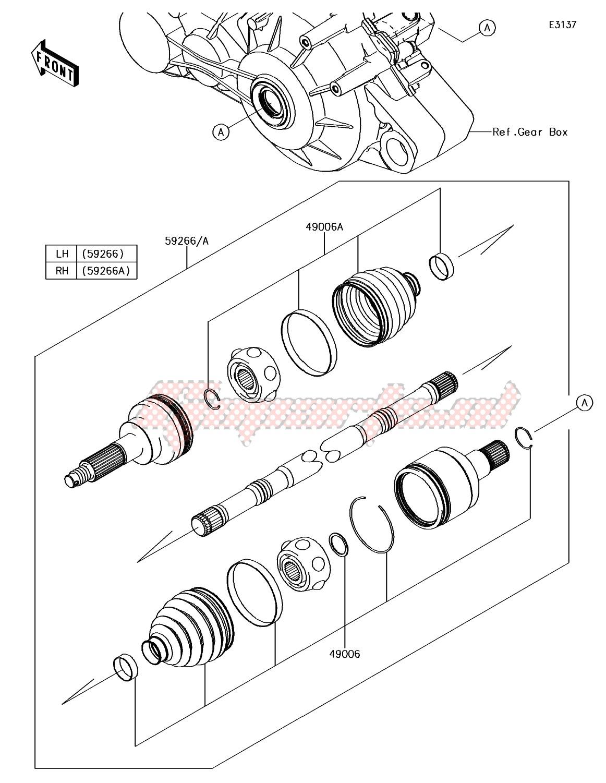 Drive Shaft-Rear image