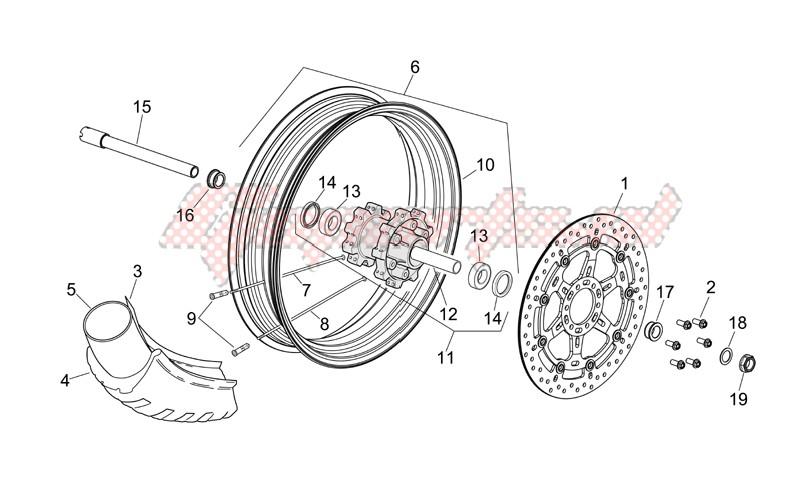 Front wheel III image