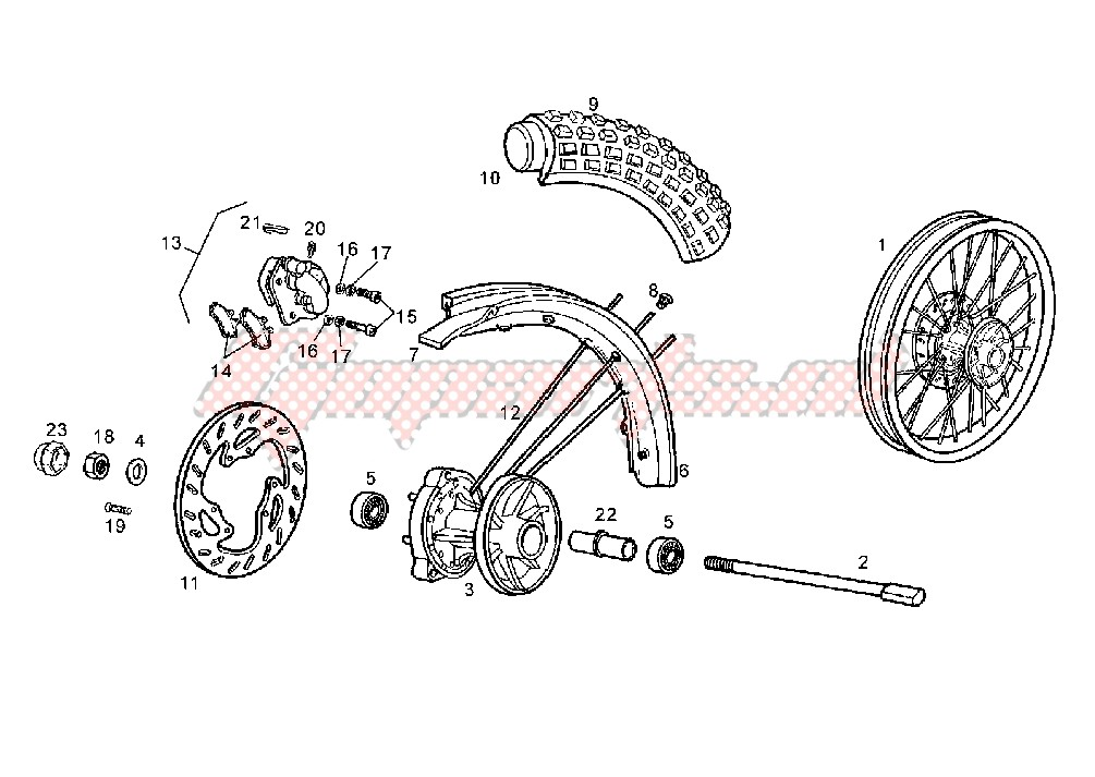 -FRONT WHEEL