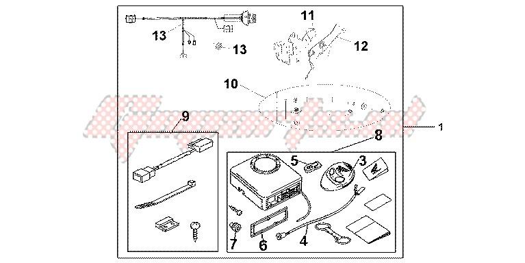 ALARM SYS blueprint