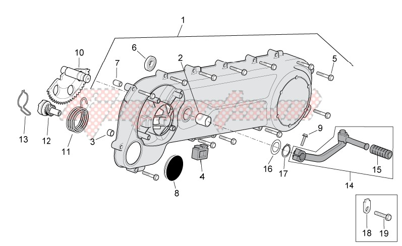 Engine-Transmission cover