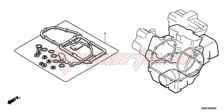 GASKET KIT B blueprint
