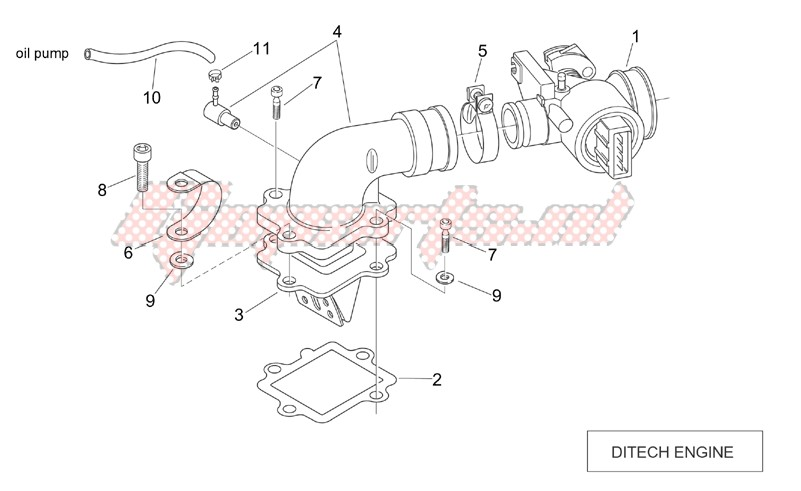 Throttle body (Ditech) image