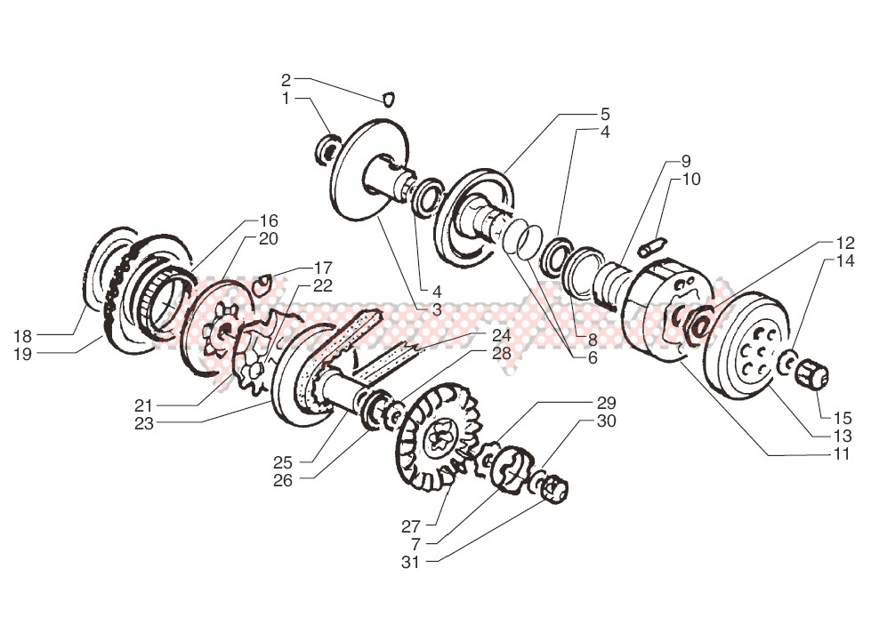 Driving pulley image