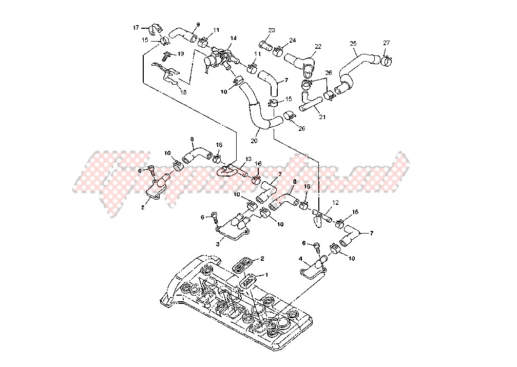 AIR INDUCTION SYSTEM blueprint