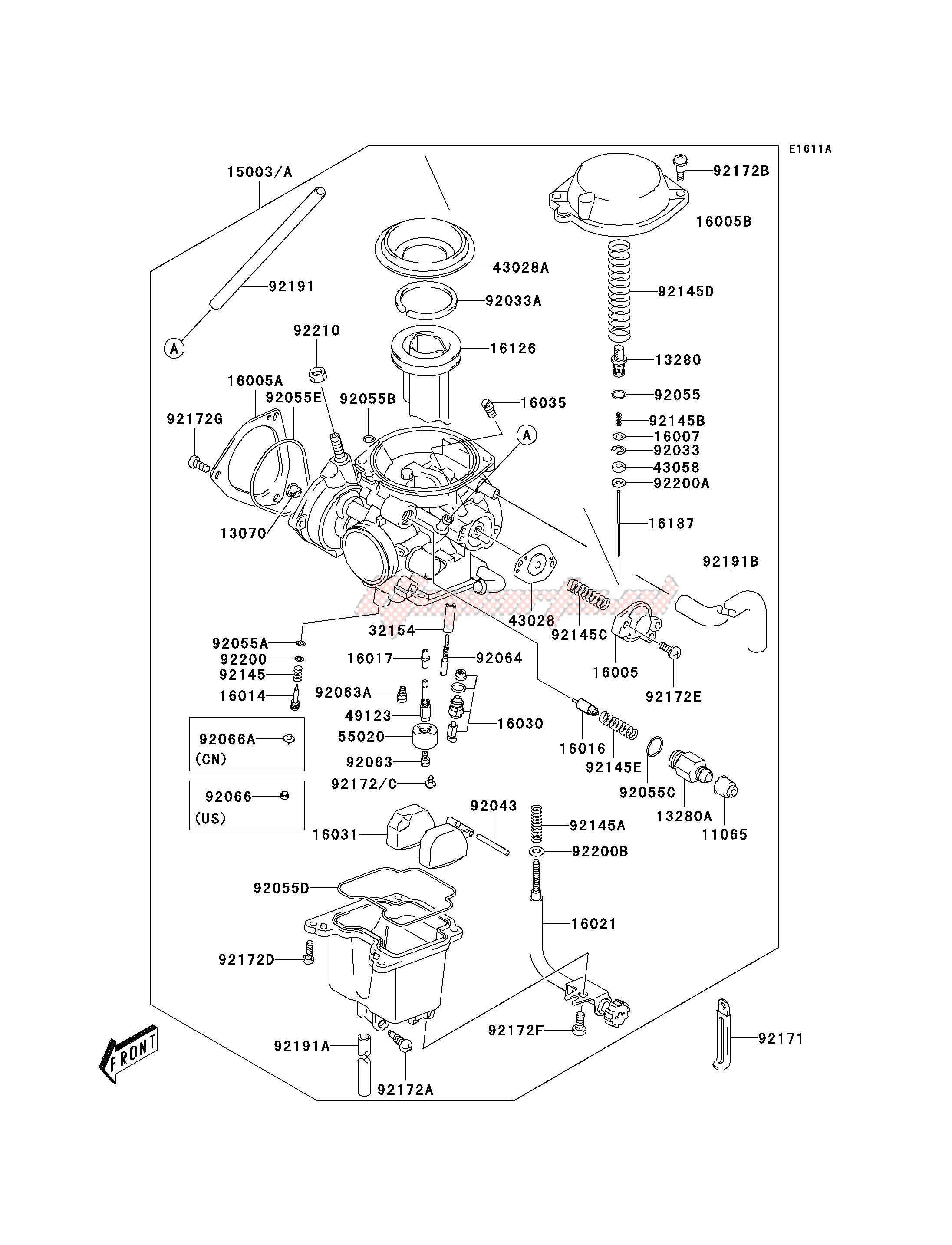 CARBURETOR -- A2- - image