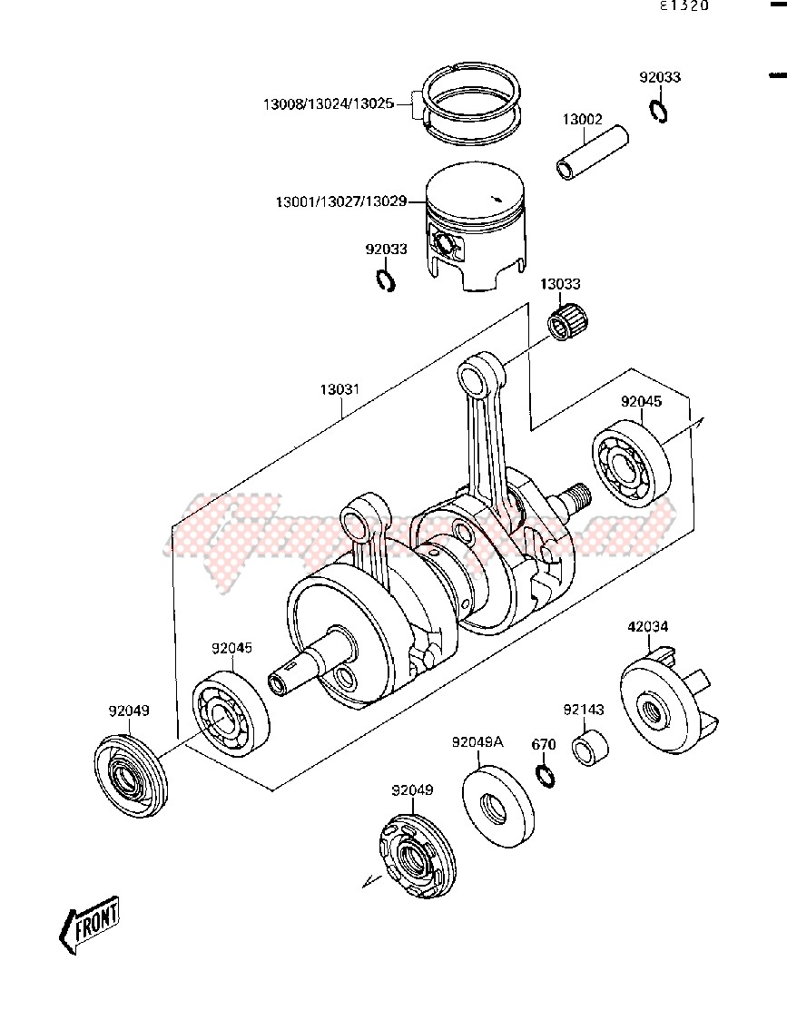 Engine-CRANKSHAFT_PISTON-- S- -