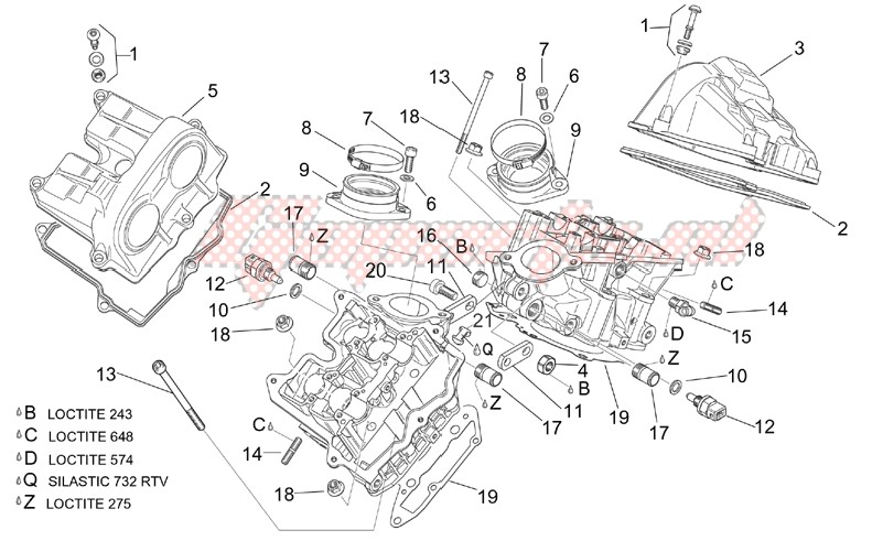 Engine-Valves cover