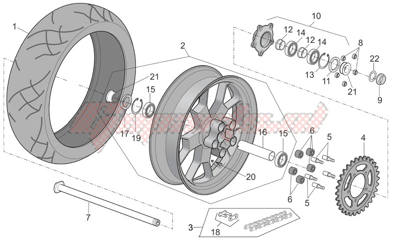 Rear wheel factory image