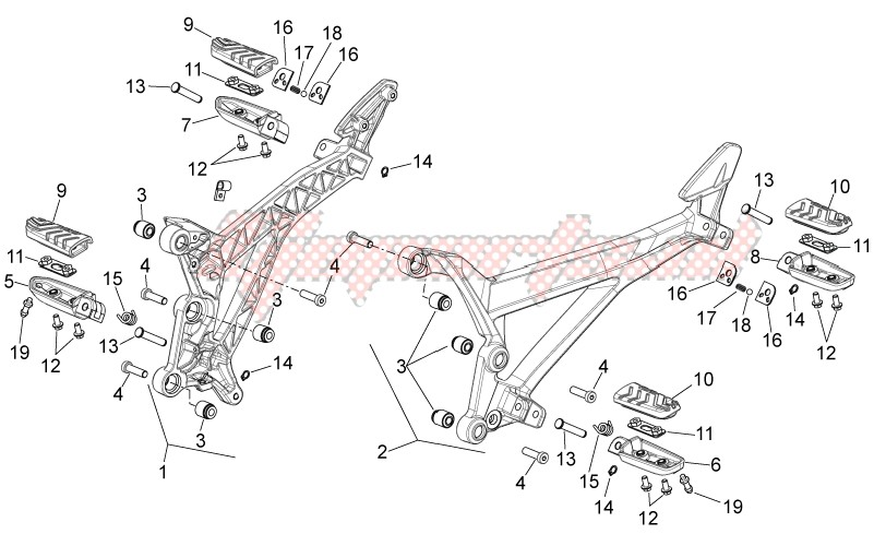 Foot rests image