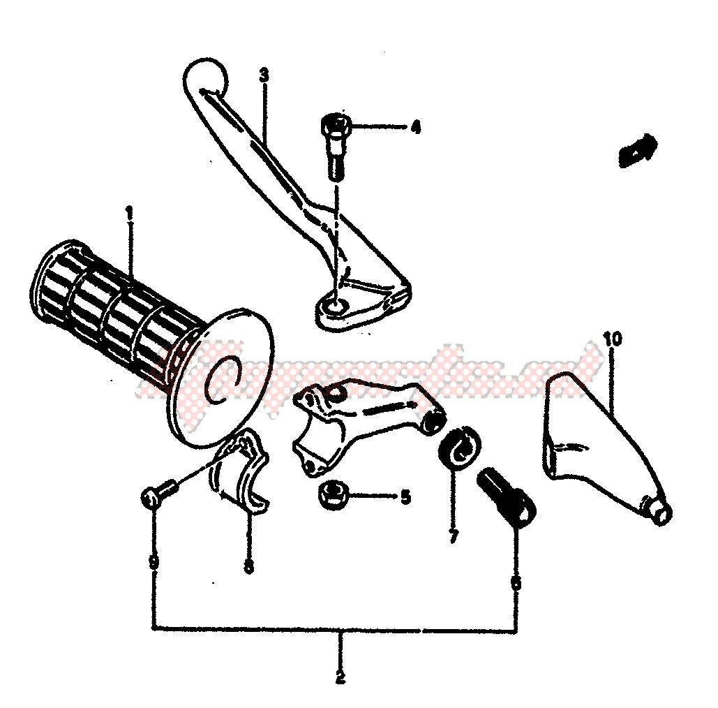LEFT HANDLE SWITCH (MODEL E) image