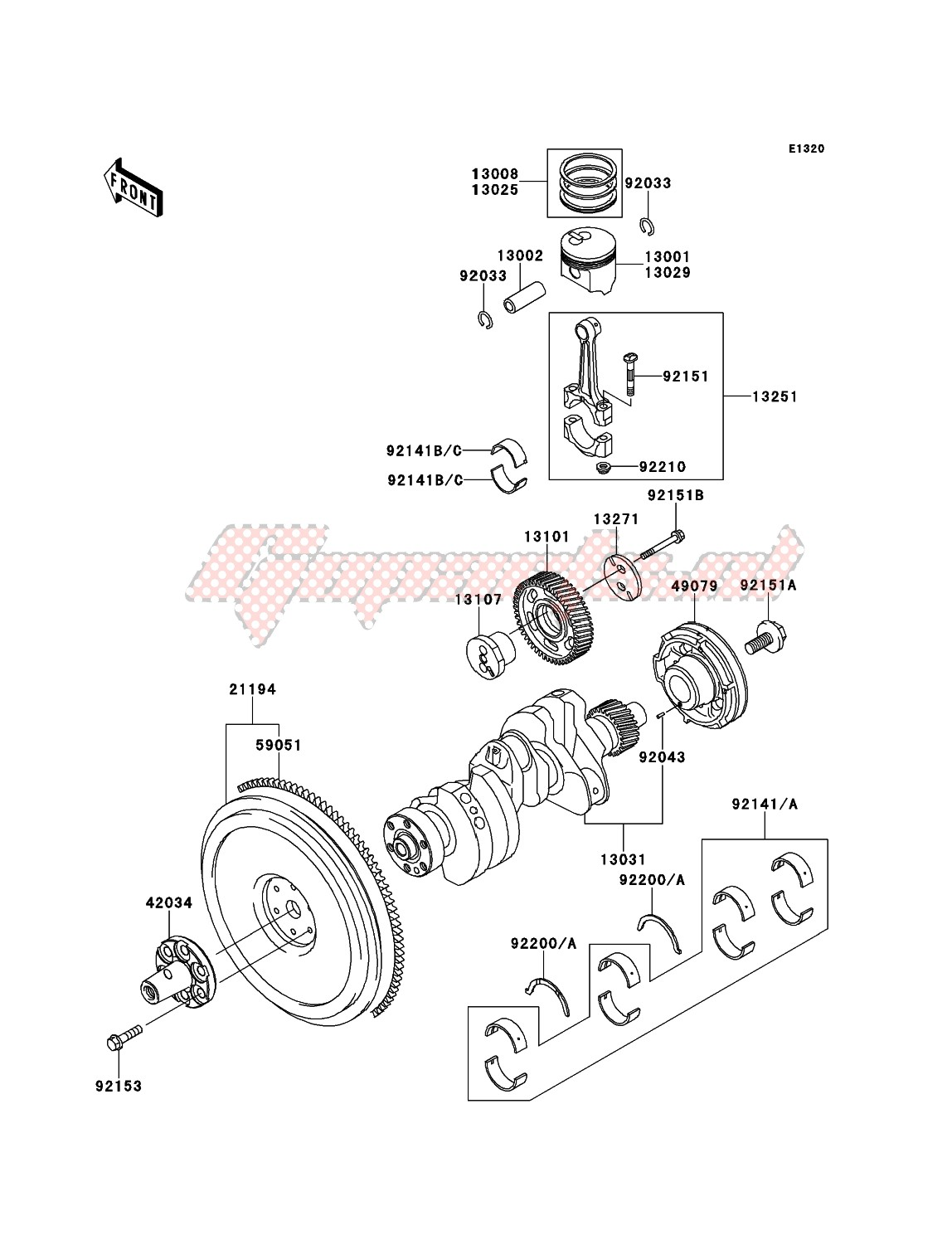 Engine-Crankshaft/Piston(s)