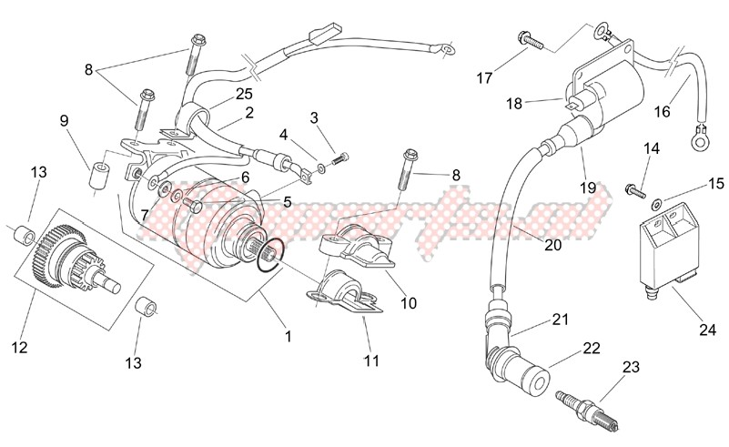 Starter motor - Ignition unit image